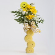Smiley Face Vase