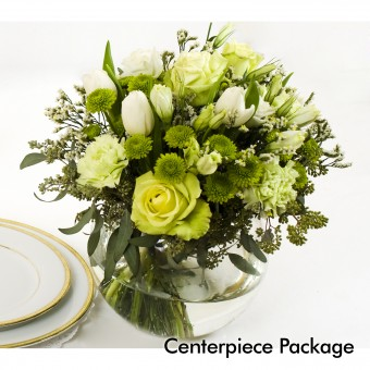 Green Wedding: Centerpiece Package
