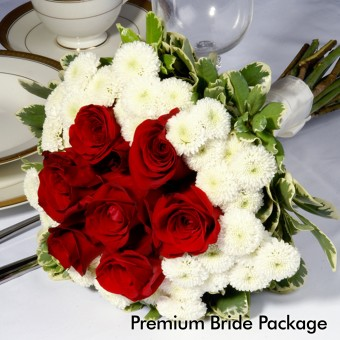 Red & White Wedding: Premium Bride