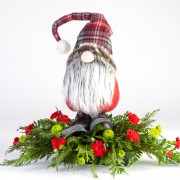 Christmas Gnome Arrangement
