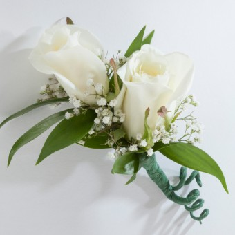 Two Sweetheart Boutonniere