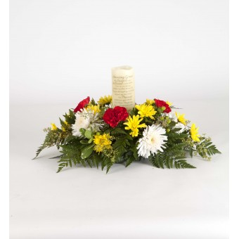 Amazing Grace Candle Arrangement