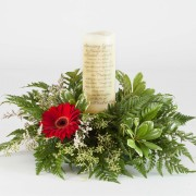 Simple Sentiments Amazing Grace Candle Arrangement
