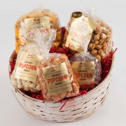 Popcorn Gift Basket-Medium