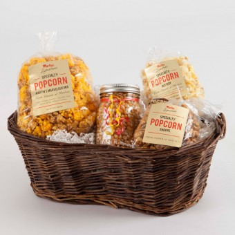 Popcorn Gift Basket-Small