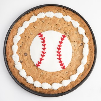 12 inch Baseball Cookie