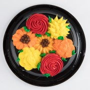7ct Fall Bouquet Cupcake Cake