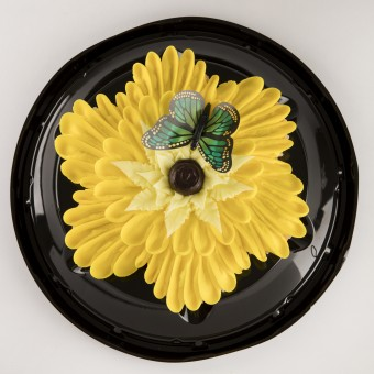 7ct Yellow Petal Cupcake Cake