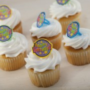 Happy Birthday Rings Cupcakes