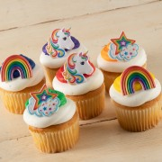 Signature Unicorn Rainbow Cupcakes
