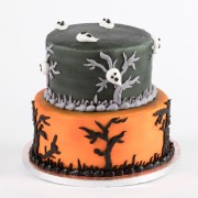 Scary Nights Stacked Cake