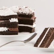 3 Layer Chocolate Torte Cake