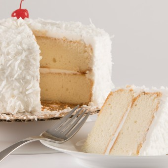 Coconut 2 Layer Cake