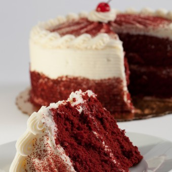 Red Velvet 2 Layer Cake