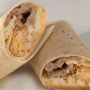 Sausage Breakfast Wrap