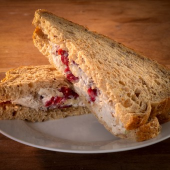 Cranberry Chicken Salad on Multigrain